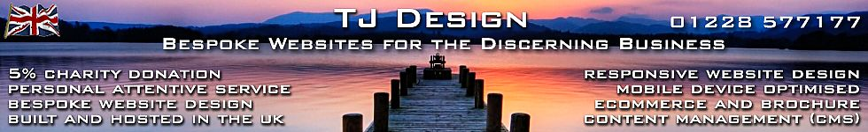 TJ Design - Bespoke Websites for the Discerning Business